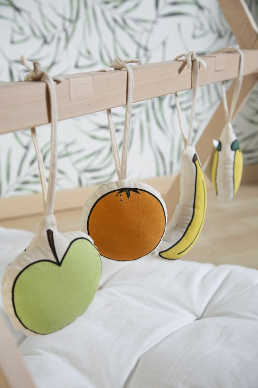 Pied de couffin Moise Tipi et Play Gym Childhome Figures