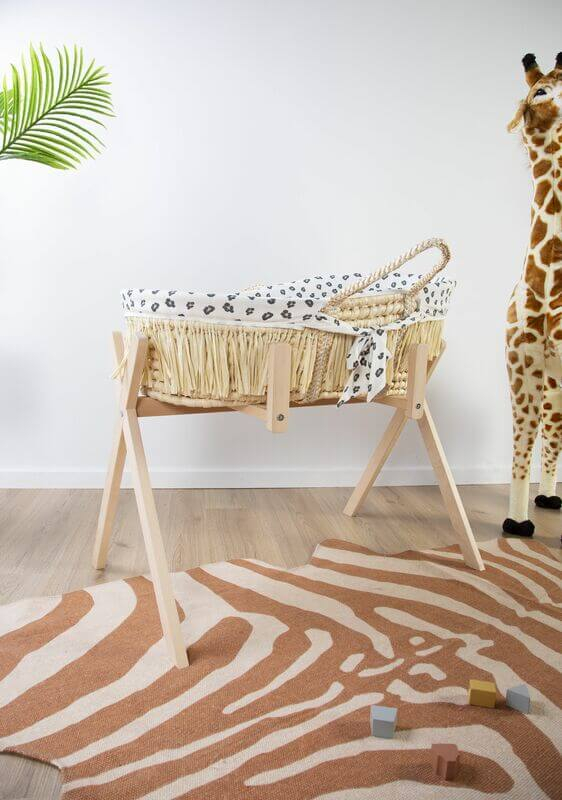 Pied de couffin Moise Tipi et Play Gym Childhome Ambiance
