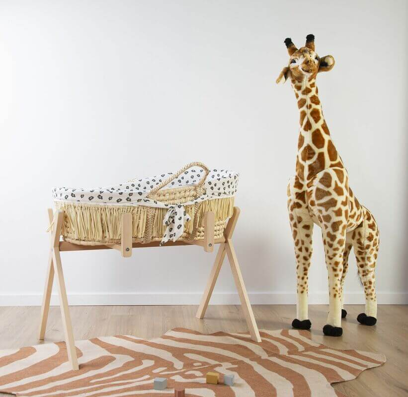 Pied de couffin Moise Tipi et Play Gym Childhome Chambre