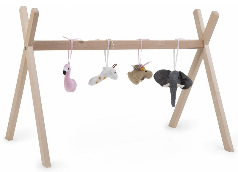 Pied de couffin Moise Tipi et Play Gym Childhome Jouets