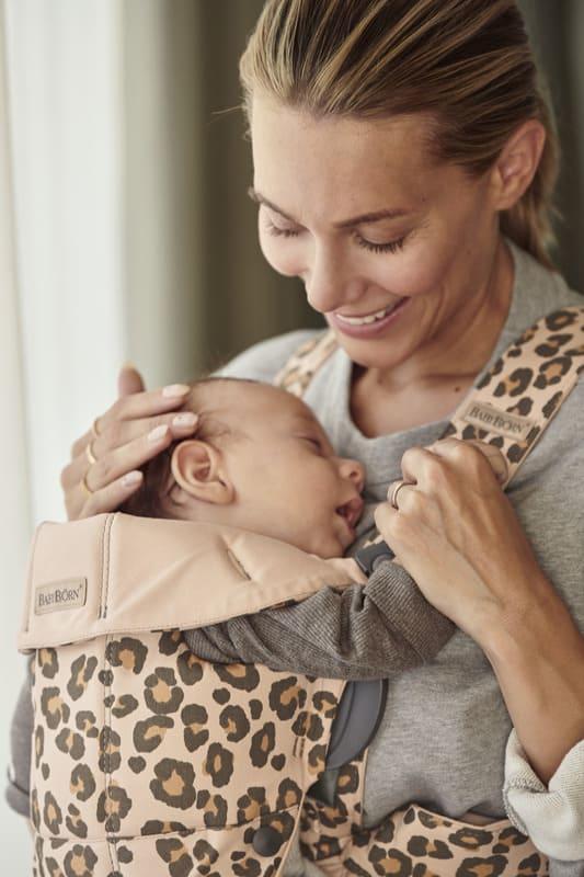 Porte-bébé Mini Coton Léopard Babybjorn Bébé