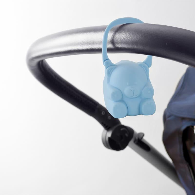 Porte-sucette Pacikeeper bleu Miniland Poussette