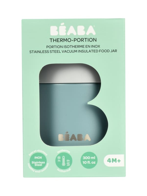 Portion inox isotherme 300 ml Béaba Packaging
