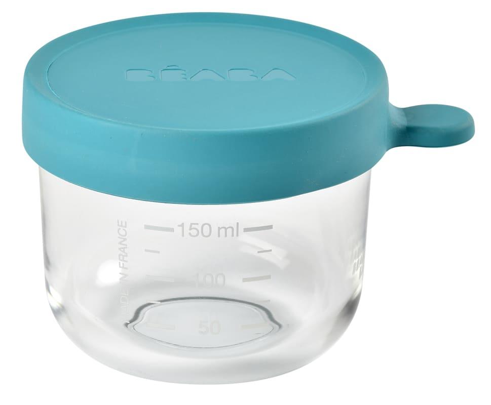 Pot de conservation en verre 150 ml Blue Béaba Produit