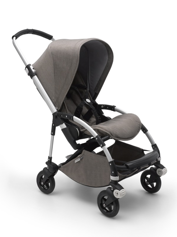 Poussette Bee 5 collection Mineral taupe Bugaboo