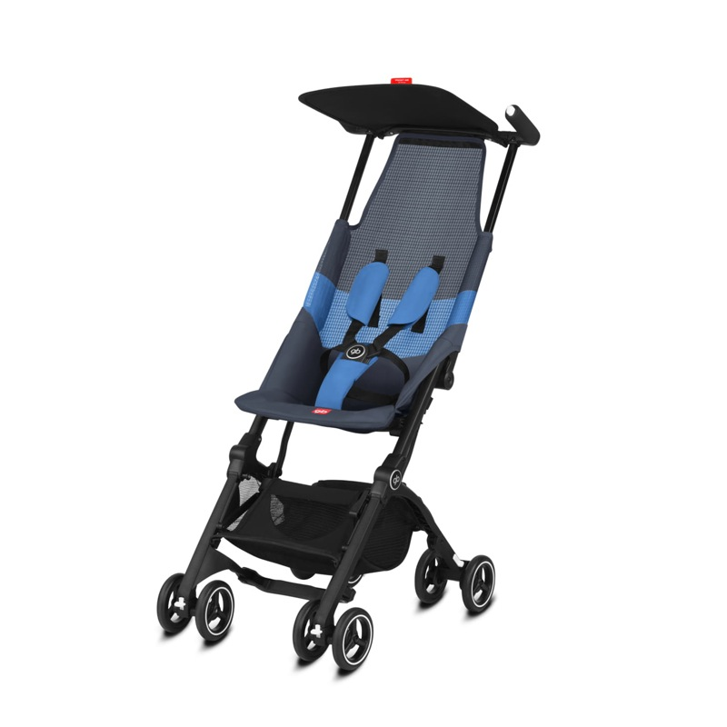 Poussette canne ultra compacte Pockit Air Tout-Terrain night blue GB