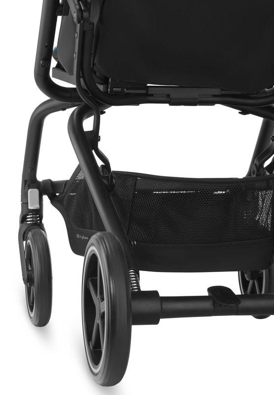 Pack poussette Eezy S Twist+ 2, siège-auto Aton 5 et adaptateurs Cybex Panier