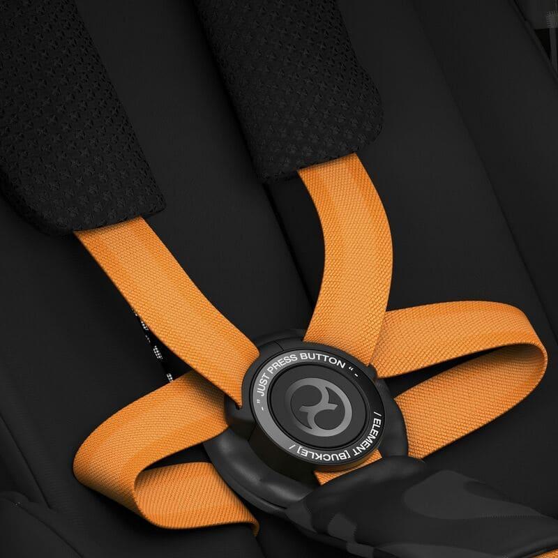 Poussette compacte Melio Street B Cybex harnais