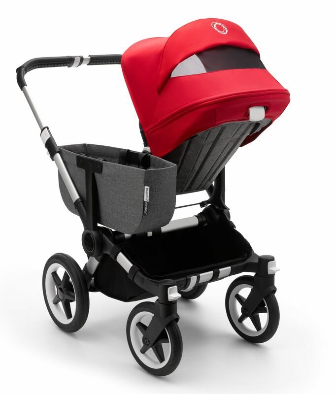 Capote extensible poussette Donkey 3 Bugaboo Installée