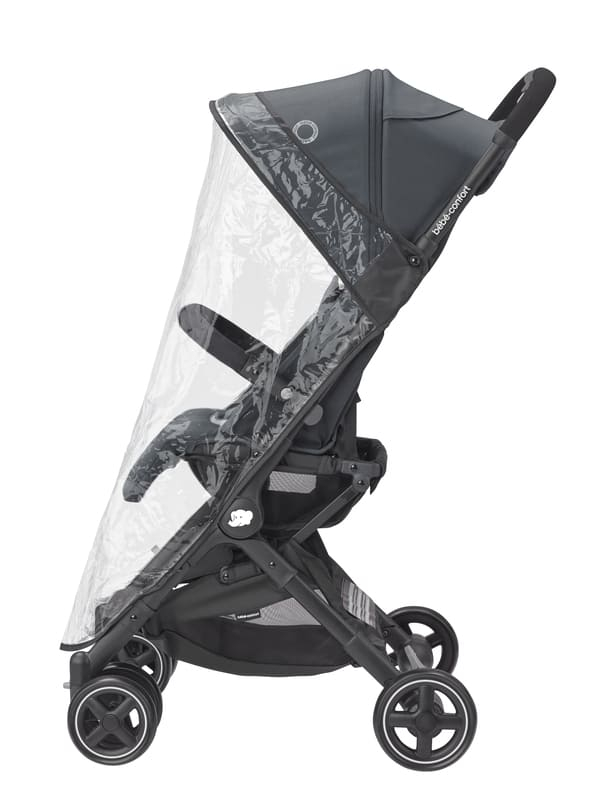 Pack poussette Lara 2 et siège-auto Pebble Pro groupe 0+ Bébé Confort Habillage Pluie