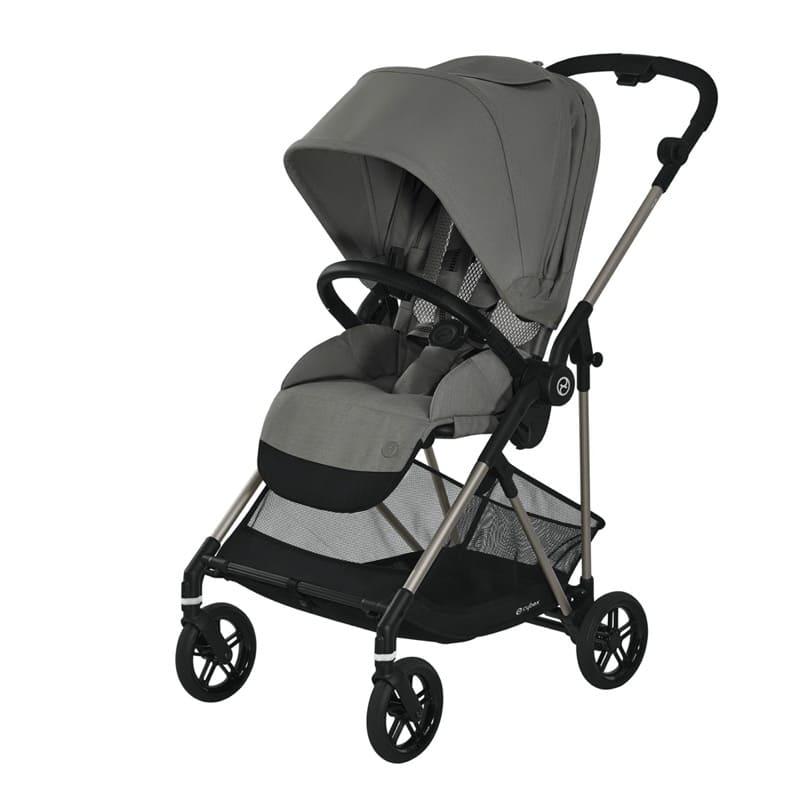 Pack poussette Melio Bronze + siège-auto Cloud Z i-Size Cybex Assise