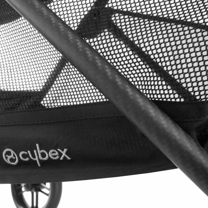 Pack poussette Melio Carbon Deep Black + siège-auto Cloud Z i-Size Cybex Tube