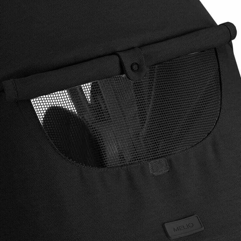 Pack poussette Melio Carbon Deep Black + siège-auto Cloud Z i-Size Cybex Canopy