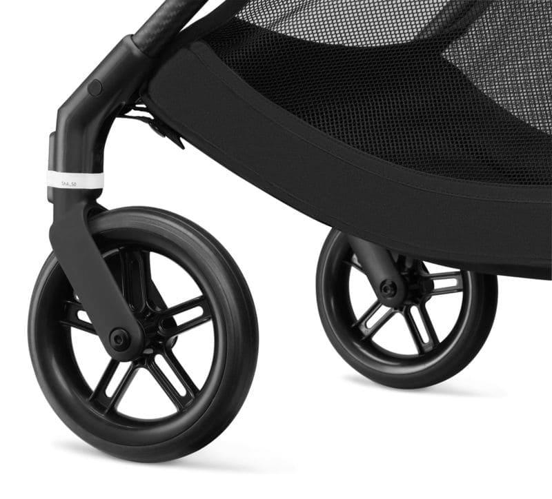 Pack poussette Melio Carbon Deep Black + siège-auto Cloud Z i-Size Cybex Roues