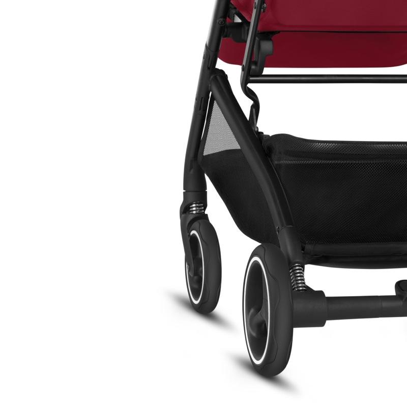 Poussette compacte Qbit + All-City Fashion Edition Rose Red GB roues