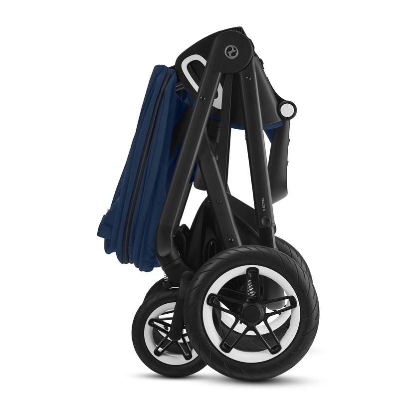 Poussette tout-terrain Talos S Lux BLK Cybex roues pliage