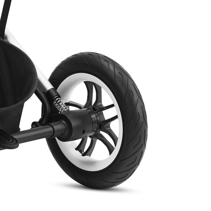 Poussette tout-terrain Talos S Lux BLK Cybex suspensions