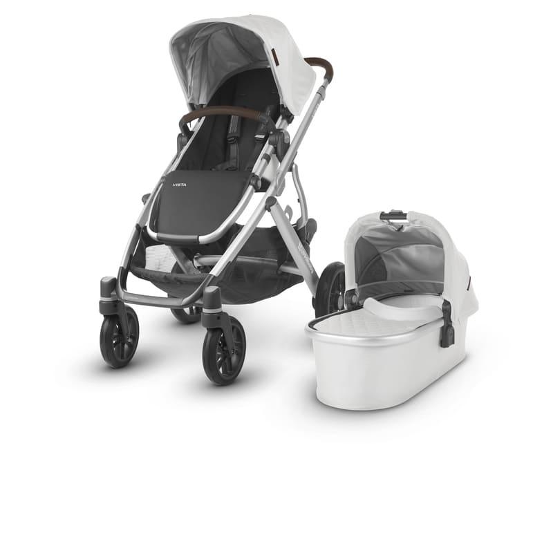 Poussette Vista avec nacelle : 1 ou 2 enfants Bryce/William Uppababy 1