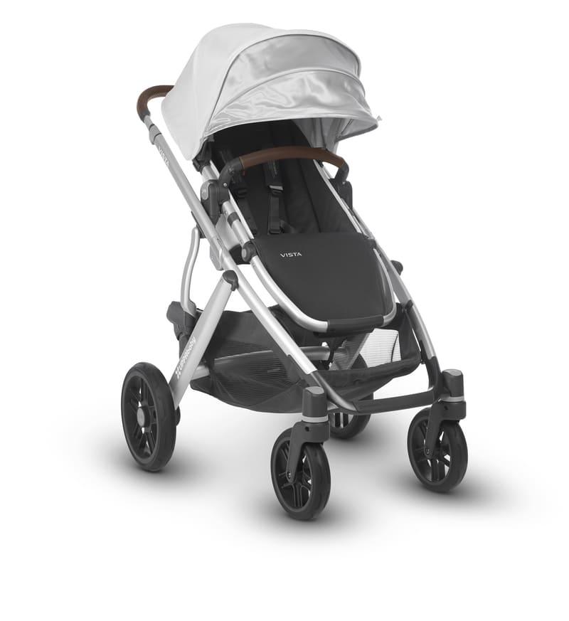 Poussette Vista avec nacelle : 1 ou 2 enfants Bryce/William Uppababy 2