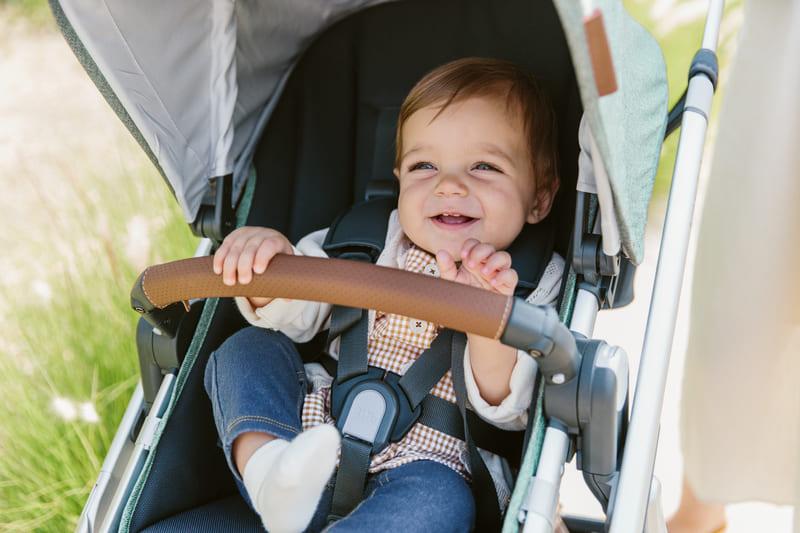 Poussette Vista avec nacelle V2 Uppababy Enfant
