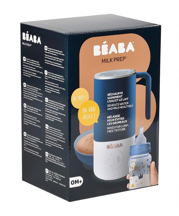 Préparateur de biberon et de boissons Milk Prep Night Blue Béaba Packaging