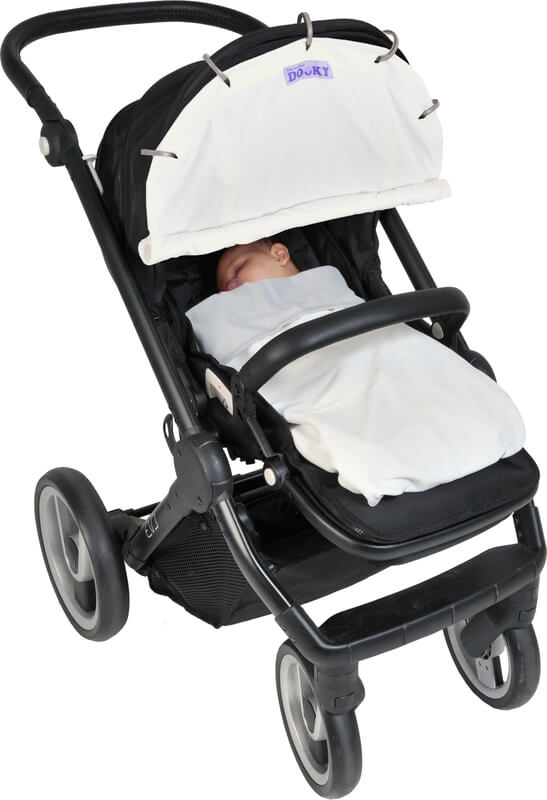 Protection pour poussette et siège-auto coque Dooky 2