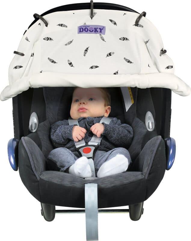 Protection pour poussette et siège-auto coque imprimée Dooky 3
