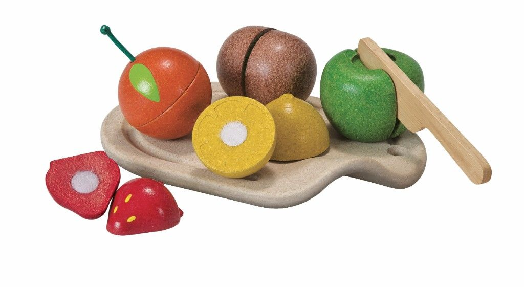 Assortiment fruits à découper Plan Toys Bambinou