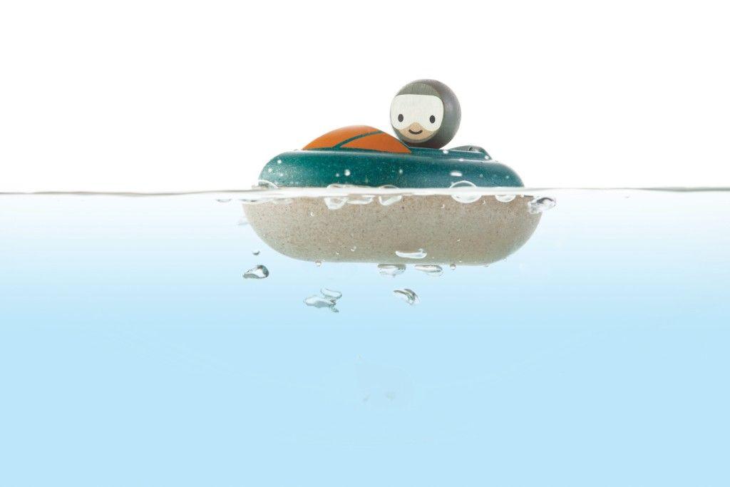 Jouet de bain mon hors bord plan toys bambinou