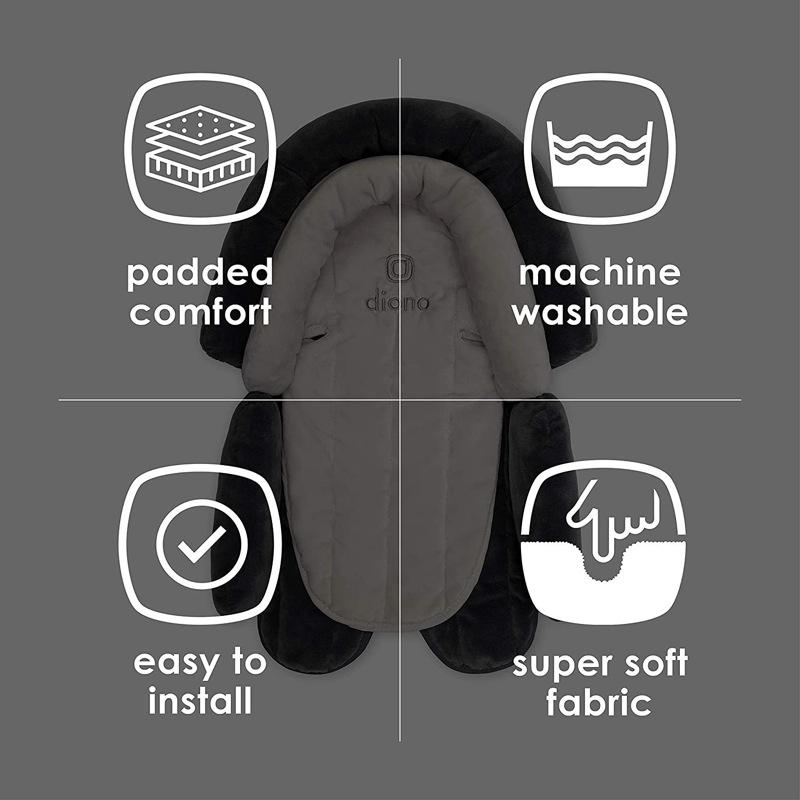 Réducteur auto évolutif jusqu'à 10kg Cuddle Soft Diono caractéristiques