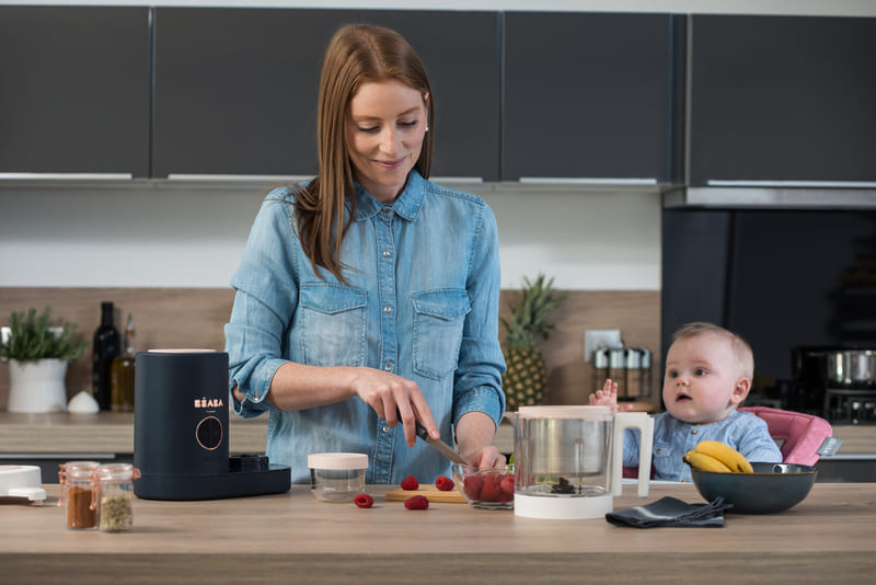 Robot culinaire Babycook Néo Béaba lifestyle