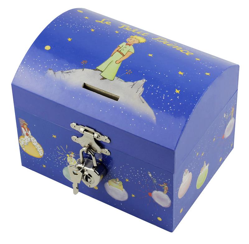 Tirelire Musicale Le Petit Prince Etoiles Bleues Coffret Trousselier