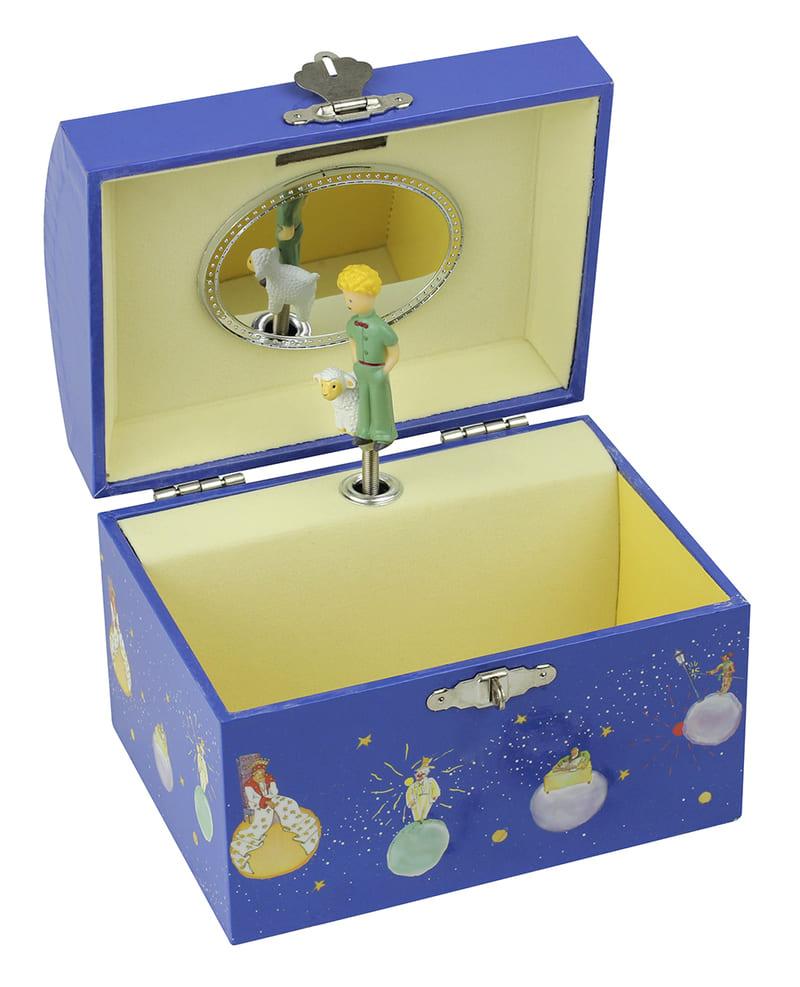 Tirelire Musicale Le Petit Prince Etoiles Bleues Ouvert Trousselier