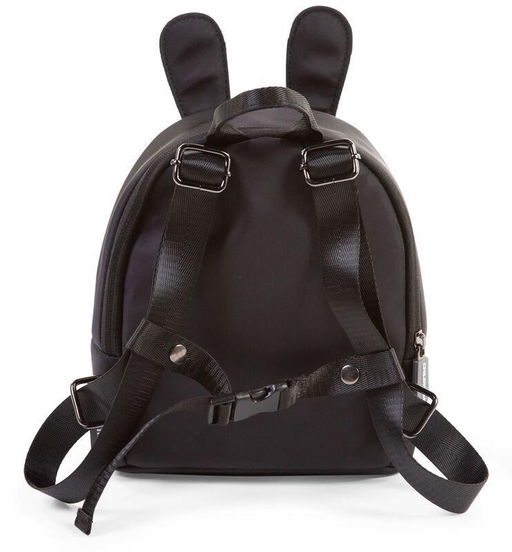 Sac à dos enfant My First Bag Noir Childhome Arrière