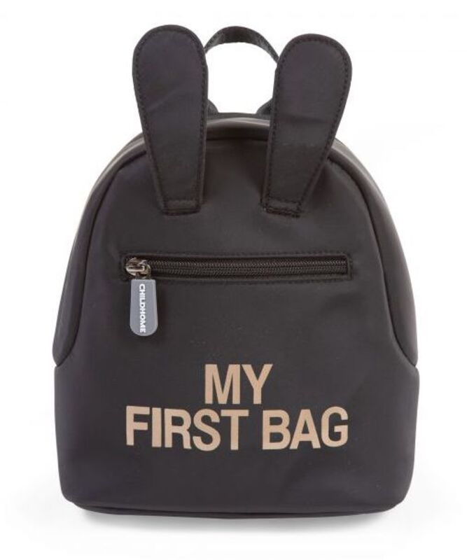Sac à dos enfant My First Bag Noir Childhome Produit