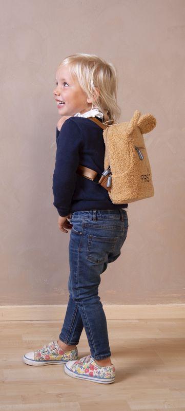 Sac à dos enfant My First Bag Teddy Beige Childhome Lifestyle