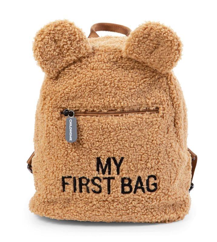 Sac à dos enfant My First Bag Teddy Beige Childhome Produit