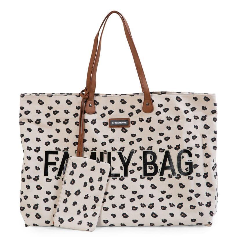 Sac à langer Family Bag Leopard Childhome Pochette