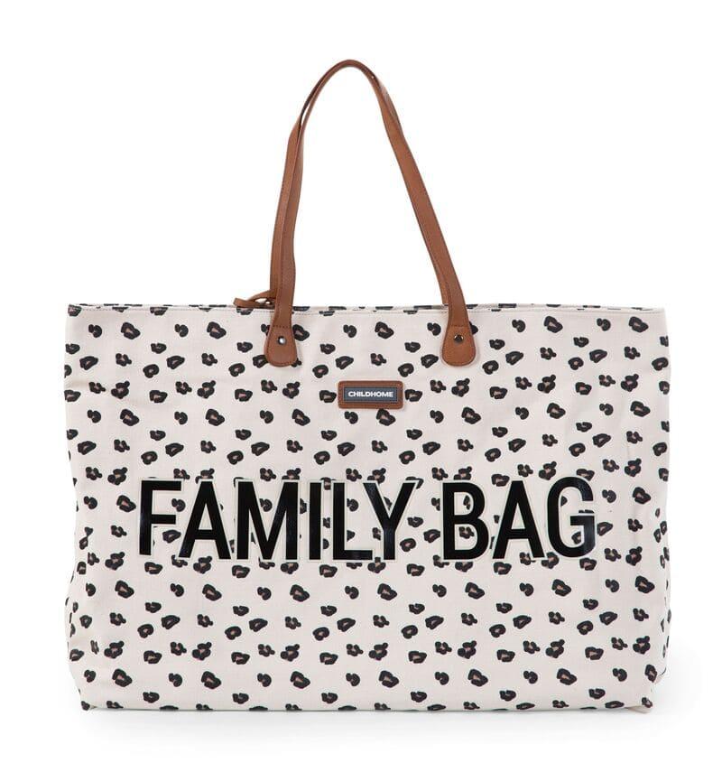 Sac à langer Family Bag Leopard Childhome Prodit
