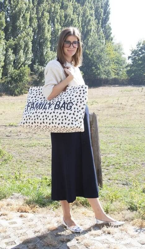 Sac à langer Family Bag Leopard Childhome Ambiance