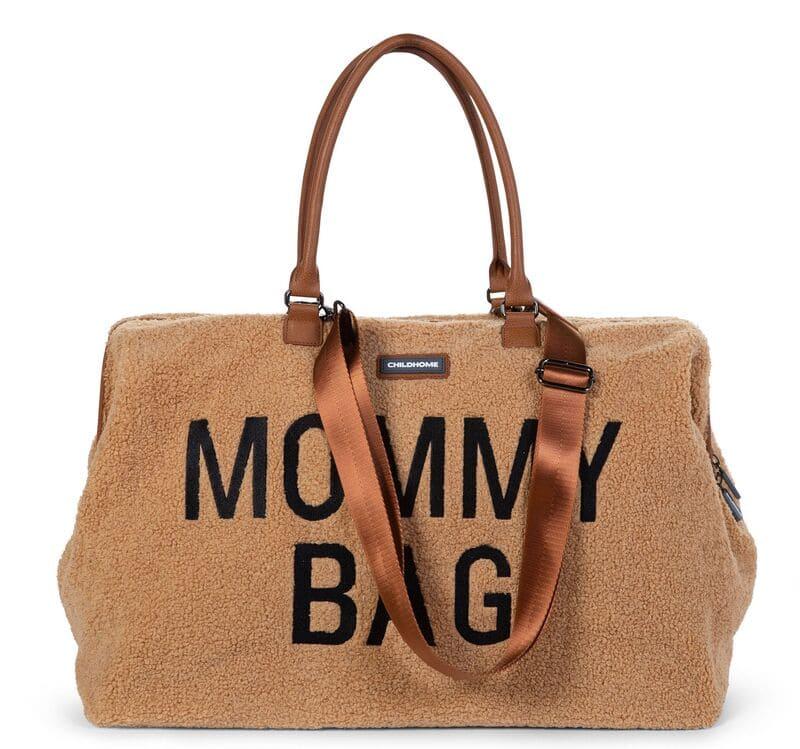 Sac à langer Mommy Bag Teddy Beige Childhome Sangle