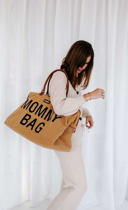 Sac à langer Mommy Bag Teddy Beige Childhome Femme