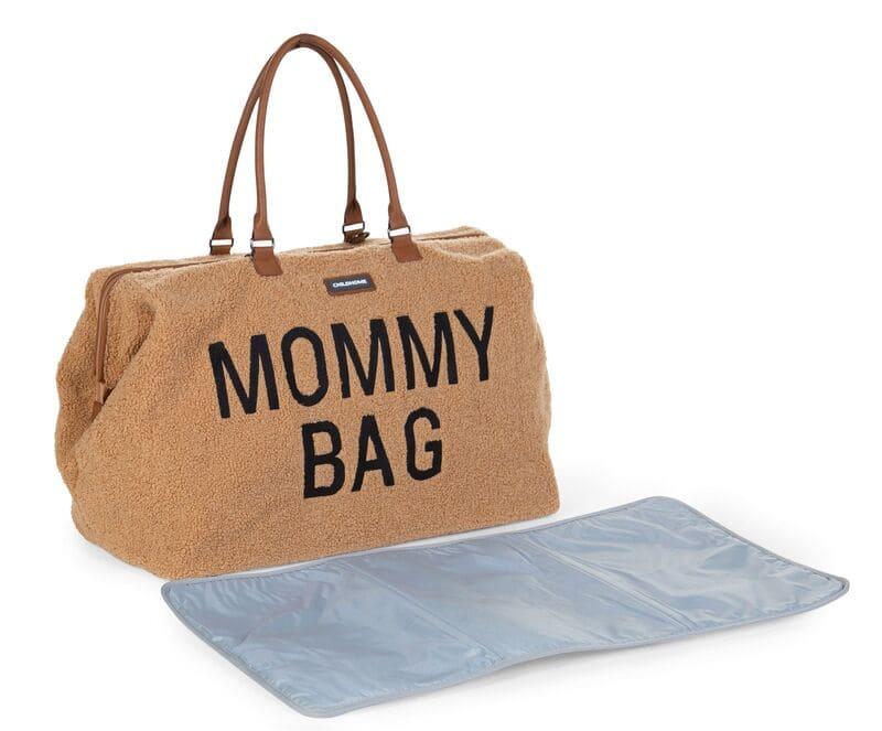 Sac à langer Mommy Bag Teddy Beige Childhome Matelas