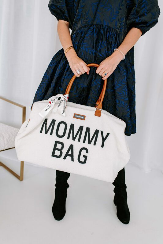 Sac à langer Mommy Bag Teddy Écru Lifestyle