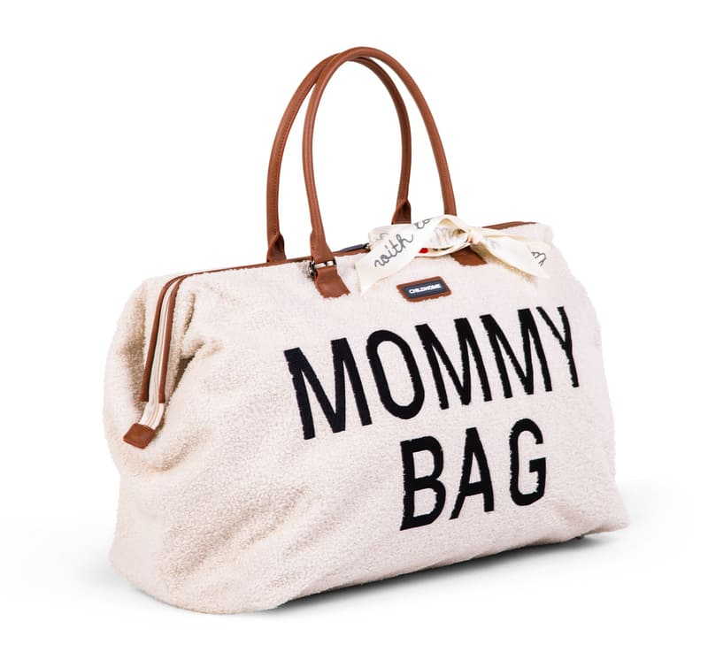 Sac à langer Mommy Bag Teddy Écru Latéral