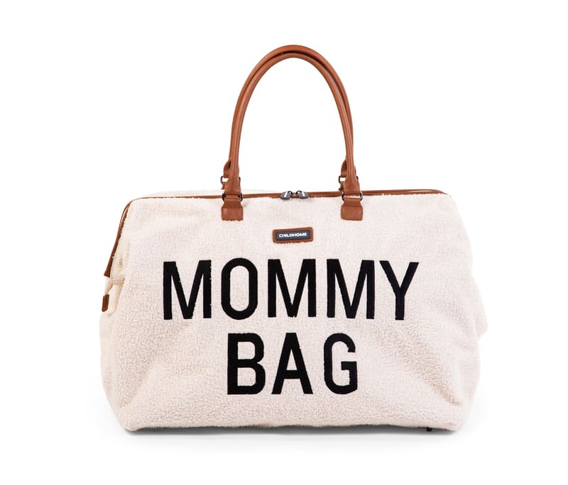 Sac à langer Mommy Bag Teddy Écru Simple