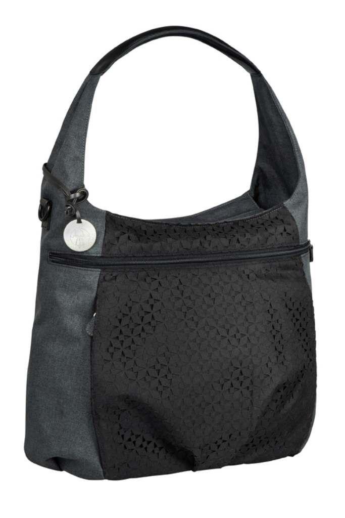 Sac a langer Hobo bag Casual Lassig Noir BamBinou