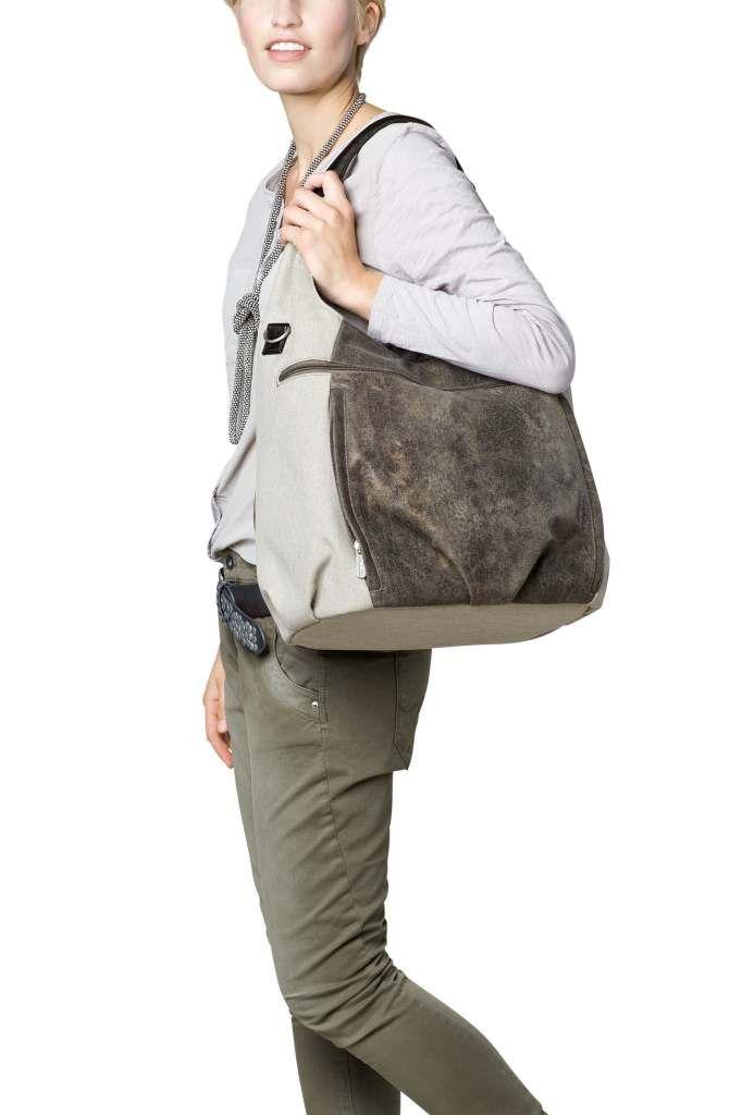 Sac a langer Hobo bag Casual Lassig olive BamBinou