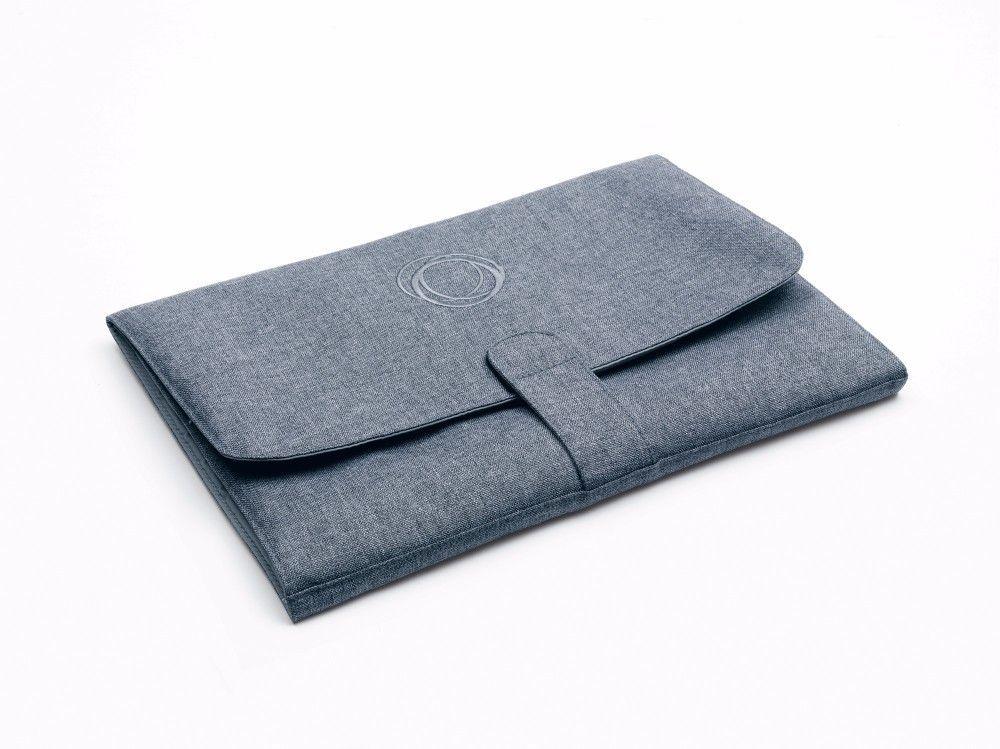 Sac à langer gris chiné intérieur gris clair poussette Bugaboo Bambinou 2