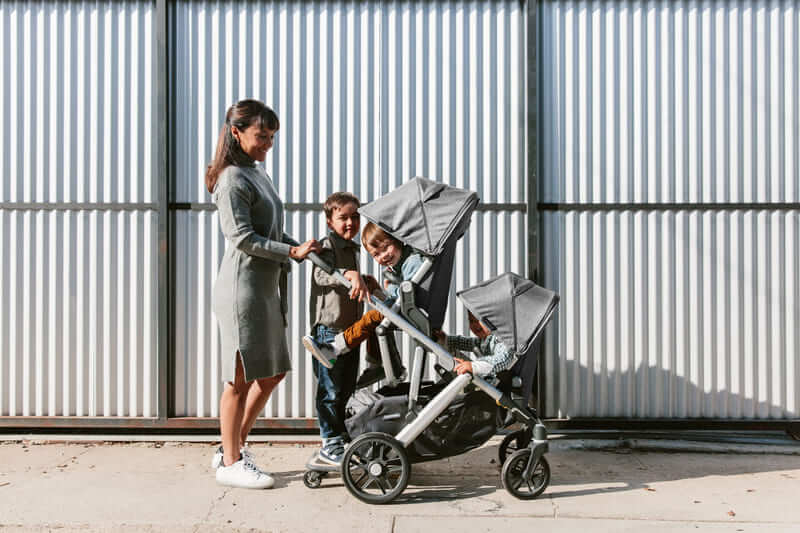 Second siège RumbleSeat pour poussette Vista V2 Uppababy Ambiance